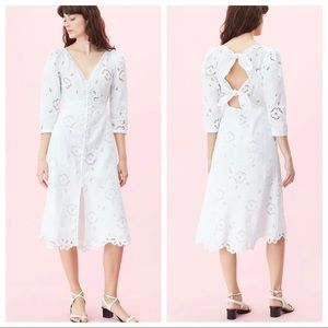 NWT Rebecca Taylor Terri Embroidered Dress